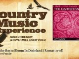The Carter Family - When the Roses Bloom In Dixieland - Remastered - Country Music Experience