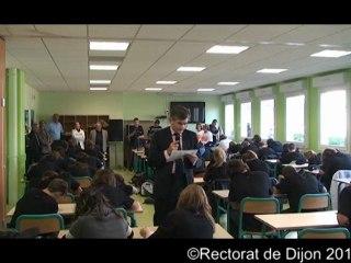 Dictée ELA 2011 au collège Albert Camus de Genlis