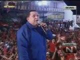 28-09-12 chavez cierre maturin Caracas, Viernes 28 de septiembre de 2012, El Presidente de la República y candidato a la reelección, Hugo Chávez Frías, ofreció un mitin de cierre de campaña en Maturín, la capital del estado Monagas.