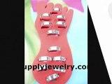 wholesale fashion costume jewelry toe rings foot jewelry Supplyjewelry.com