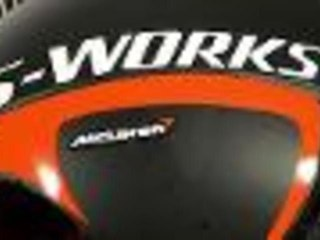 Specialized S-Works + McLaren TT helmet