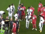 VAFC-Rennes : l'entrée des joueurs