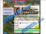 War Commander Cheat (Latest War Commander FB Credits Cheat 2012) War Commander Cheats V.1.7