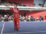 Championnat de France 2012 de Wushu Taolu / Chang Quan Seniors - Khadidja Osmani