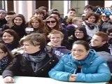 Studenti e docenti del Liceo Scientifico Fermi di Sciacca protestano News AgrigentoTV