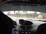 Onboard Hanquiez / Coustenoble - Renault Twingo R1 - Rallye du Touquet ES 9 Bourthes