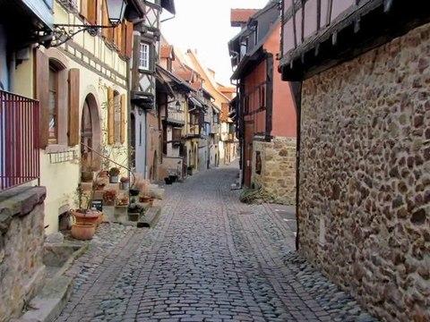 Balade hivernale à Eguisheim