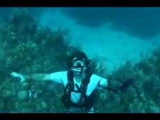 Diving in Danger Cay, Bahamas
