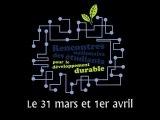 Teaser 3 Rencontres Nationales des Etudiants pour le téveloppement durable