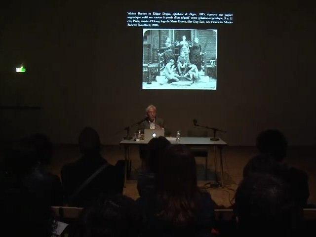 Conférence de Bernard Vouilloux, le tableau vivant - Nouveau festival / 3ème édition
