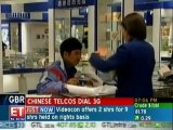 Chinese telecos developing infrastructure for 3G