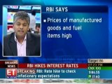 RBI ups repo, reverse repo rate by 25 bps