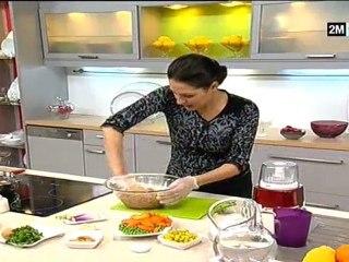 Recettes De Tajines De Kefta De Poulet, Poisson Et Crevettes Aux Petits Pois