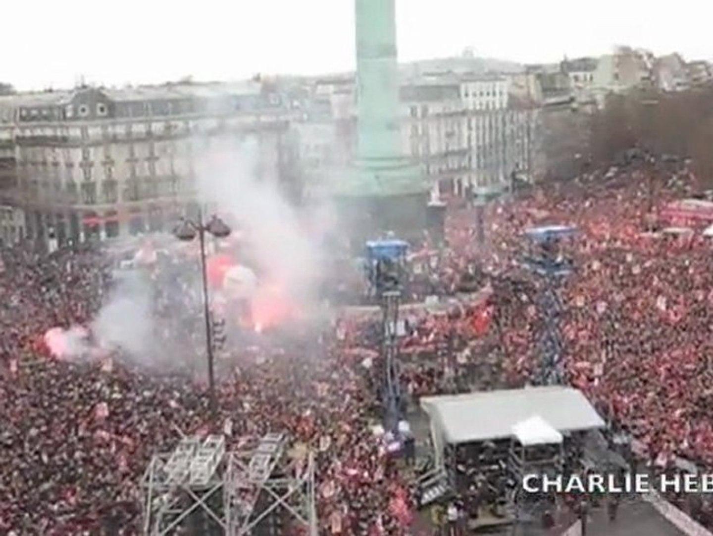 Front de Gauche Bastille 18 mars 2012