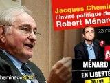 Jacques Cheminade, invité politique de Robert Ménard sur Sud Radio