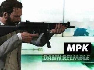 Submachine Guns de Max Payne 3
