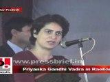 Priyanka Gandhi Vadra in Raebareli talks about Sonia Gandhi