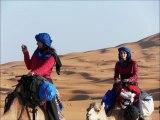 Morocco's Nomadic  Expeditions  - Sahara Desert Camp - 4x4 Luxury Tours -   遊牧民のサハラ砂漠のキャンプ...