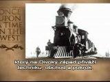 Železnice, revoluce Západu (EN + CZ tit.)