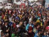 Extreme ski and boarding at the Freeride World Championships