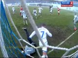 Dynamo M 1-3 Spartak M highlights 25.03.2012