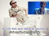 Christophe Willem - Si mes larmes tombent karaoke