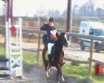 CCE du 25 Mars 2012, aux Ecurie les Lys... Célia & Many en Poney 3