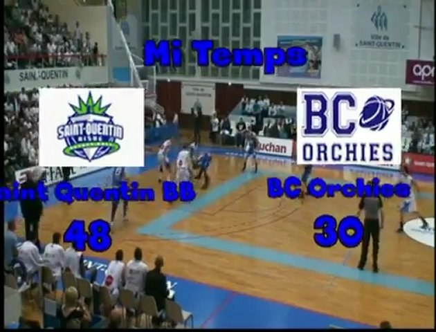 NM1 J27 Saint Quentin BB - BC Orchies : 82 - 62