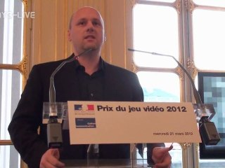 Remise du Prix du Jeu Vidéo 2012 - Vidéo 2 de