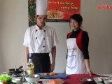 Cháo Cá Hồi (Vào bếp cùng sao - số 12) - amthuc.tv - tapchiamthuc.vn