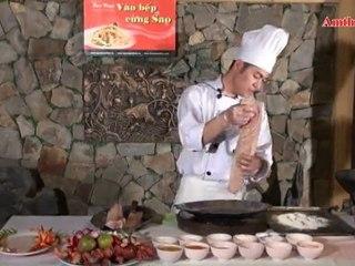 Cá tầm chiên sốt chanh (Vào bếp cùng sao -Số 17) - amthuc.tv - tapchiamthuc.vn
