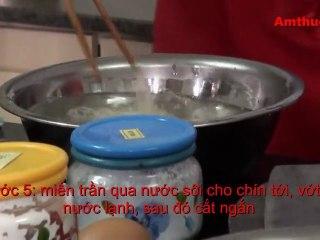 Miến trộn hải sản (Vào bếp cùng Sao - số 27) - amthuc.tv - tapchiamthuc.vn