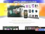 Apple Inc CEO Steve Jobs unveils iCloud