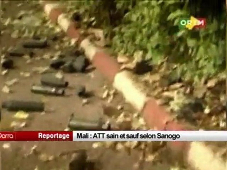 Mali, ATT sain et sauf selon Sanogo