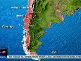 Sismo de 6,8 grados este domingo en Chile