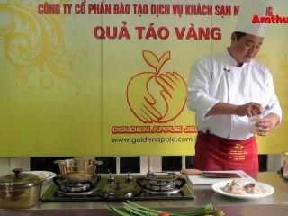 Cá nướng lá dứa (Vào bếp cùng sao - số 38) - Tapchiamthuc.vn - amthuc.tv
