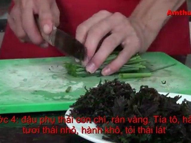 Ốc nấu chuối đậu (Vào bếp cùng Sao - số 28) - amthuc.TV - tapchiamthuc.vn