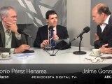 Periodista Digital. Tertulia política, Jaime González y Antonio Pérez Henares. 26 de marzo 2012