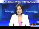 US President Barack Obama targets Republican