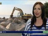 Nice : engraissage des plages niçoises