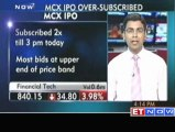 MCX IPO oversubscribed more than 2 times