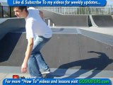 Skateboarding Lessons Toronto - How to go down a RAMP