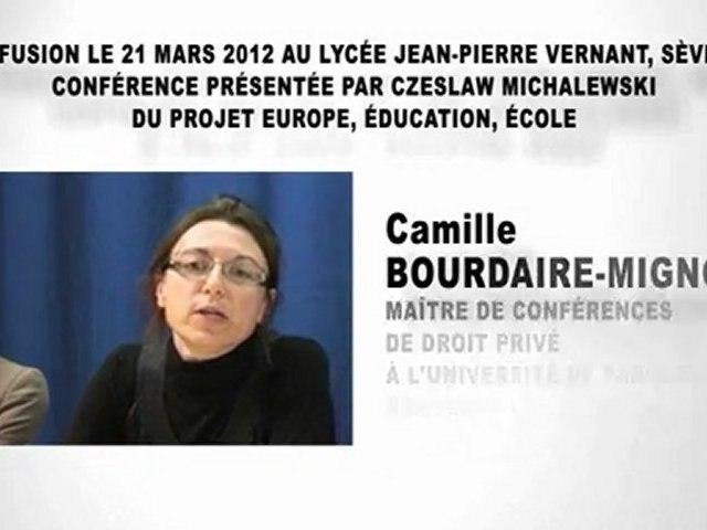 L'évolution de la famille, Camille BOURDAIRE-MIGNOT