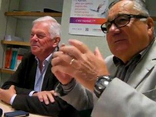 Gérard Willmann rappelle la genèse de la Mission locale Drôme des Collines Royans Vercors