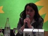 Discours de Cécile Duflot à Nice