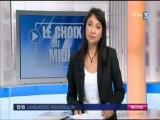 Deux lycéens de Champollion dans le 12/13 de France 3 Languedoc-Roussillon