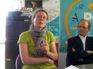 Florence Martin de la Cress au Pôle territorial de coopération économique Pôle sud de Romans