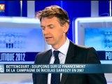 Bettencourt : soupçonssur le financement de la campagne présidentielle de Nicolas Sarkozy en 2007
