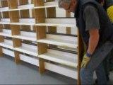 chantier médiathèque des Quatre-Moulins à Brest- phase 2 - mars 2012