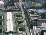 Francfort, Allemagne : vue aérienne toits de Francfort